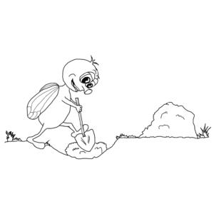 FLY beim Graben